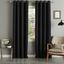 Aurora Home Grommet Top Thermal Insulated 96-inch Blackout Curtain Panel  Pair - 52 x 96 - Free Shipping Today - Overstock.com - 12329779