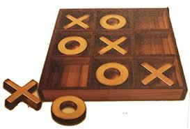 Vintage Wooden Board Games Amazon American Vintage Style Jumbo Tictactoe Wooden Board 5
