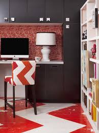 home office design quirky. A Cool Lamp And One-of-a-kind Art Pieces To Decorate The Room Give Overall Design An Extra Kick. Home Office Quirky