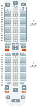 787 Airlines Seating Chart Touring Korean Airs First Boeing 787 9 Dreamliner