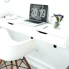 office floating desk small. Hello Kitty Desk Computer Small Space Powerhouse The Best Wall Mounted Floating Desks Office F
