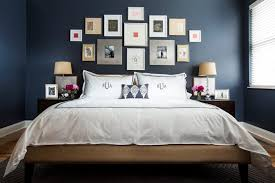 Dark Blue Bedroom Design Decor Ideas Frame Decoration