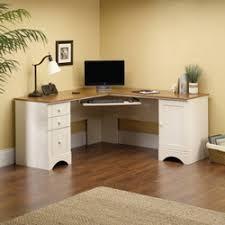 home office desk worktops. New -Sauder Harbor View Corner Computer Desk Home Office Worktops
