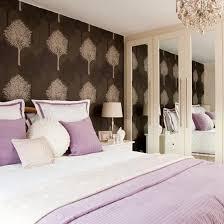 bedroom wallpaper design ideas. Bold Brown Tree Wallpaper Bedroom Design Ideas
