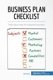 Business Plan Checklist