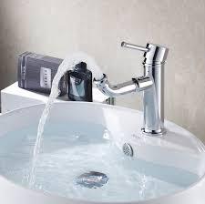 Modern New Arrival Concept Single Hole Bathroom Basin Swivel