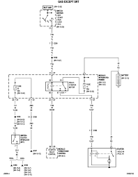 ram dash lights but no battery gauge relays ignition switch ok here is a wiring diagram the relay and the cavities numbered in the starter relay