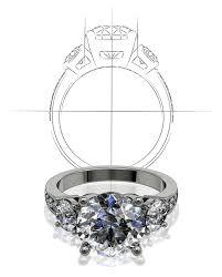 custom ring design at freedman jewelers