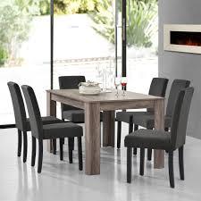 Esstisch Antik Eiche Mit 6 Stühlen Grau Textil 140x90 Tisch Stühle