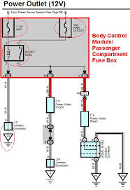 12v power outlets toyota 4runner forum largest 4runner forum Power Outlet Diagram attached power outlet diagram 001 jpg (47 5 kb) power outlet wiring diagram