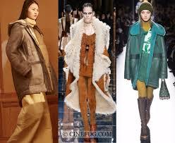 kenzo joseph fendi outerwear fall winter 2017 2018 fashion trends sheepskin coats