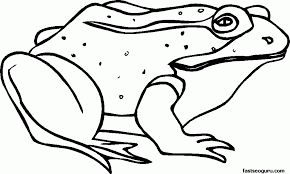 31 frog coloring sheets are collected for any of your needs. Frog Coloring Pages For Kids Coloring Home