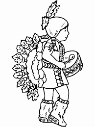 30 Free Printable Native American Coloring Pages