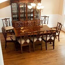 square henredon dining table