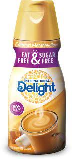 This set is a coffee lover's dream, with 24 creamer, serving size pods, perfect for purse, pantry, or flavor emergencies—and no refrigeration needed! International Delight Coffee Creamer Fat Free Sugar Free Caramel Marshmallow 16 Oz Pack Of 5 Amazon Com Grocery Gourmet Food