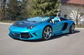 Mansory Lamborghini Aventador LP700-4 Roadster-As Blue as the Sky ...