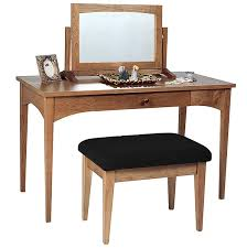 Home > Shop by Brand > Lyndon Furniture > Lyndon Bedroom Furniture >  Vermont Mission Platform Bed by Lyndon > Vermont Traditions Ladies Dressing  Table ...