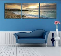 bedroom wall art canvas. Plain Bedroom NOT FRAMED Canvas Print Home Decoration Modern Bedroom Wall Art Seascape  Blue Ocean Beach Picturein Painting U0026 Calligraphy From Garden On  Inside E