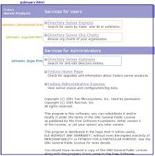 Red Hat Organization Chart F 2 Configuring Admin Express Red Hat Directory Server 9 0