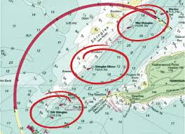 Safe Water Mark On Chart Navigation Essential Buoys And Marks Ybw