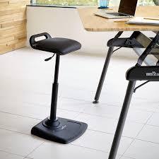 inspirational stand up desk chair our best standing office varichair varidesk