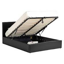 bed frame with storage. Interesting Bed Waverley Black Faux Leather Storage Bedstead On Bed Frame With
