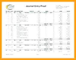 Excel Journal Entry Template Payroll Journal Template Journal Entry Template Payroll