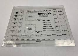 Precision Accuracy Sec Size Estimation Chart Transparency For Defects And Measuring