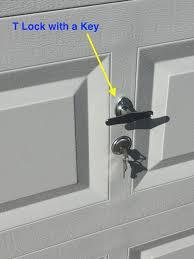Garage Doors How To Lock Garage Door From Inside Open Wageuzi Garage