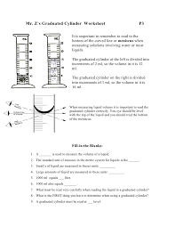 Graduated-cylinder-worksheet & What Volume Of Liquid Is In These ...