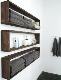 bathroom wall shelf bronze amazing metal floating target for kitchen garage