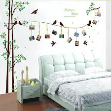 tree picture frame wall decal