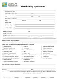 Application For Membership Membership Application Geneva Area Chamber Of Commerce