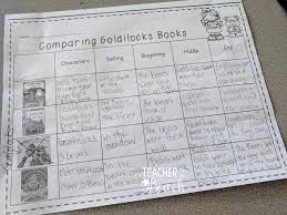 goldilocks and bears teacher by the beach then by the end of the week usually day 4 we have a mock trial for goldilocks we have prepped for a few days learning the terms and such