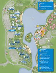 caribbean beach resort guide map photo  of  at disney world