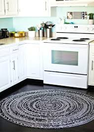 braided kitchen rugs black and white round rug for oval braided kitchen rugs