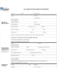 Construction Incident Report Template Construction Report