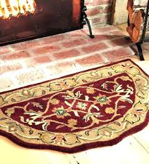 home depot round rugs home depot round rugs half round hearth rug enchanting floor decor fireplace
