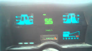 1989 Chevy s10 digital dash on the hwy - YouTube