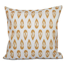 E By Design Pillows E By Design Happy Hippy Ikat Tears Geometric Print Outdoor