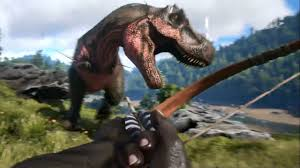 ark survival evolved trailer dinosaur games 2016 ps4 xbox one pc hd you