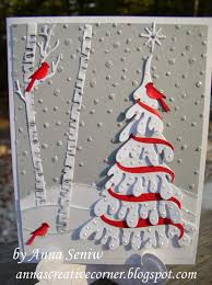 Creative Christmas Cards A Peek Inside The Creative Corner Another Nature Themed Christmas