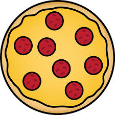 whole pizza clipart.  Clipart Pepperoni Pizza For Whole Clipart