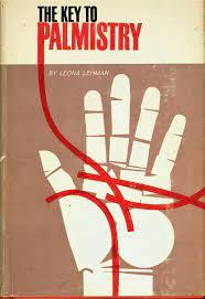 KEY TO PALMISTRY LEONA LEHMAN (1963, Book) HC   Vintage book covers,  Palmistry, Book cover design