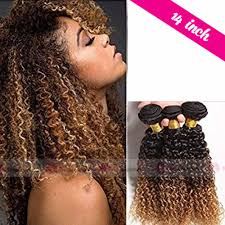 Ombre Weave Color Chart 14 Inch Human Curly Weave Hair Extensions With Ombre Colors