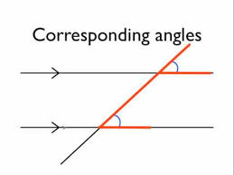 Angl Es Angles In Parallel Lines Corresponding Angles Youtube