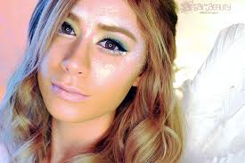 a super easy costume angel makeup look look gorgeous in your angel costume this year