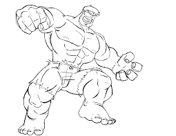 Hulk Hogan Coloring Pages Hulk Color Page The Hulk Coloring Pages