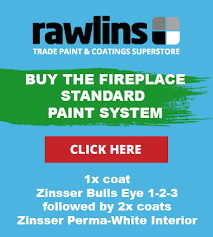 Painting The Walls Around A Fireplace Or Multi Fuel Stove Rawlins Paints Blog
