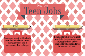 Part Time Jobs For High Schoolers Rampage Pro Con Teen Jobs